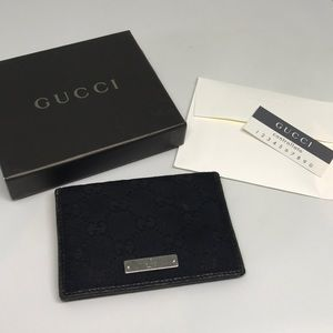 Gucci Bags - Authentic Black Gucci Wallet with Original Box
